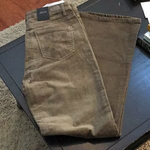 Black label high waist corduroy flare NWT